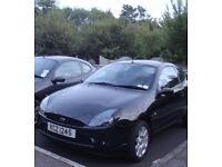 Ford puma, black. Great condition. Low mileage