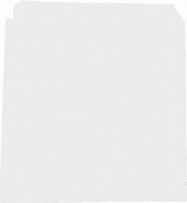 2000 Stück Dönertüten unbedruckt weiß Döner Kebab 16 x 16 cm
