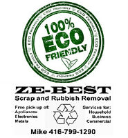 Scrap & Auto Removal-100% Environmentally-Friendly