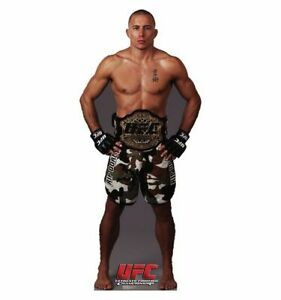 Georges St. Pierre display