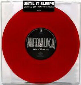 Metallica-Unitil-it-sleeps-NEW-MINT-Limited-edition-RED-vinyl-10-inch-single