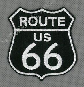 Route 66 US toppa ricamata termoadesivo iron-on patch Aufnäher - <span itemprop='availableAtOrFrom'>Poznan, Polska</span> - Zwroty są przyjmowane - Poznan, Polska