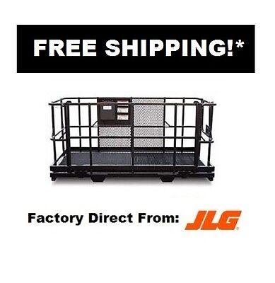 Jlg 1001103637s - Jlg Telehandler Work Platform Forklift Man Basket 4 X 8