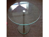 Glass Table, condition as New