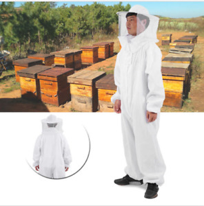 Professional Full Body Beekeeping Bee Keeping Suit with Veil