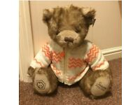 NEW WWFC WOLVES Rare Limited Edition Stanley Teddy Bear + Box