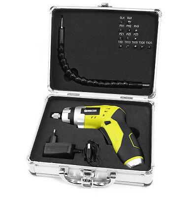 Stabschrauber mit Taschenl.funk. im Koffer inkl. biegsamer Welle B-WARE QV90221