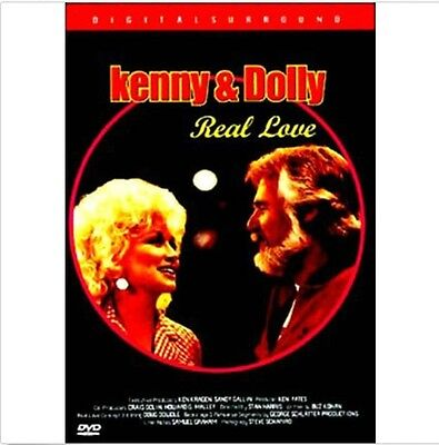 Kenny Rogers & Dolly Parton DVD - Real Love (New & Sealed)
