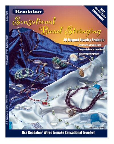 Beadalon Beading Jewelry Making Craft Book Sensational Bead Stringing BOOK4