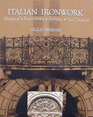 BOOK/LIVRE/BOEK : ITALIAN IRONWORK/FER FORGE ITALIEN/ITALIAANS SMEEDIJZER
