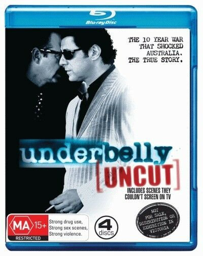 Underbelly (Uncut) (NOT TO BE SOLD IN VICTORIA) = NEW Blu-Ray Region B