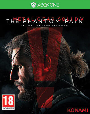 Metal Gear Solid V The Phantom Pain XBOX ONE IT IMPORT KONAMI