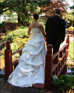 Wedding Dress, Professionally cleaned
