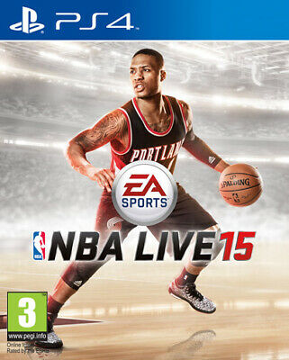 NBA Live 15 (Basket 2015) PS4 Playstation 4 ELECTRONIC ARTS comprar usado  Enviando para Brazil