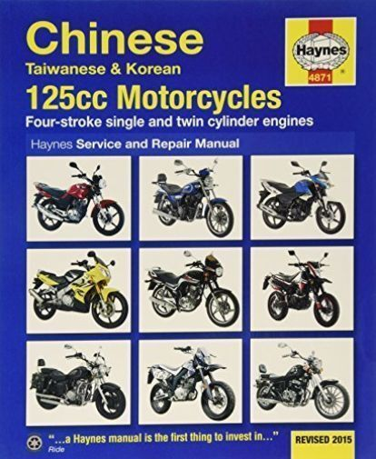 Haynes Manual Chinese 125cc Scooters Taiwanese Korean 4-Stroke Workshop Manual