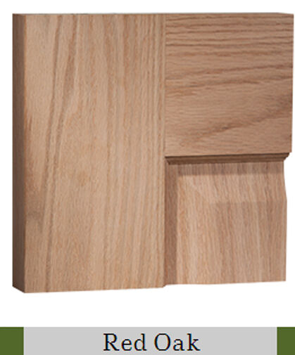 6 panel raised red oak traditional stain grade solid core for 8 panel solid wood doors