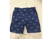 Boys summer shorts. Aged 1.5-2 years. NEXT and M&S. excellent condition.