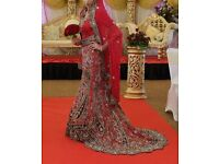 Red Bridal lehnga,
