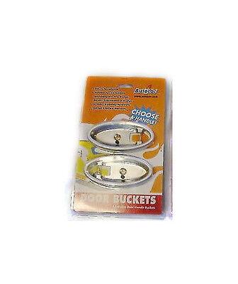 Billet Aluminum Street Rod Interior Door Handle Base Pockets Buckets BZDHB - Billet Aluminum Door Handle