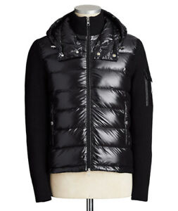 MONCLER ZIP-UP QUILETED HOODIE TO SELL