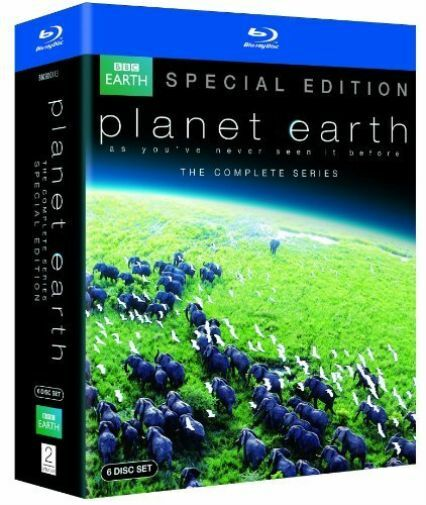 David Attenborough: Planet Earth - The Complete Series Blu-ray NEW