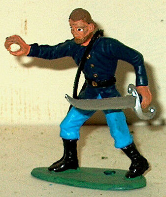 CIVIL WAR UNION OFFICER W/SWORD RING HAND 54MM MPC