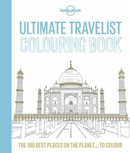 LP ULTIMATE TRAVEL COLOURING BK1  BOOK NEW