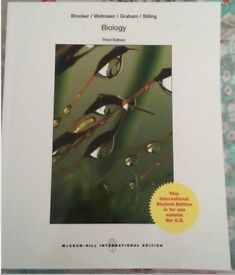Biology by Linda Graham, Eric P. Widmaier, Robert J. Brooker, Peter D....