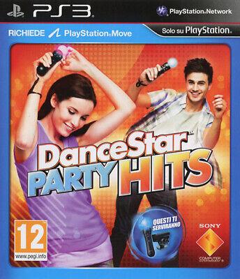 Dancestar Party Hits PS3 PLAYSTATION 3 sony Computadora Entertainment