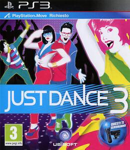 Just Dance 3 PS3 Playstation 3 IT IMPORT UBISOFT