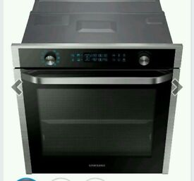 SAMSUNG HOB AND DUAL COOK OVEN