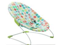 Excellent condition graco baby swing, baby bouncer and baby carry belt