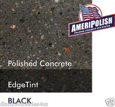 5 Gl. Black Concrete Color Dye 4 Cement Stain Ameripolish Solvent Based