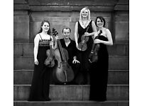 String Quartet Available For Weddings and Events, prices from £340