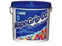 Tile adhesive Mapei MapeGrip D2 - 15kg Tub