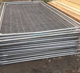 🛠Security Heras Used High Quality Fencing Panels • HeavyDuty