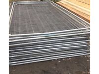 🎄Security Heras Used High Quality Fencing Panels • HeavyDuty