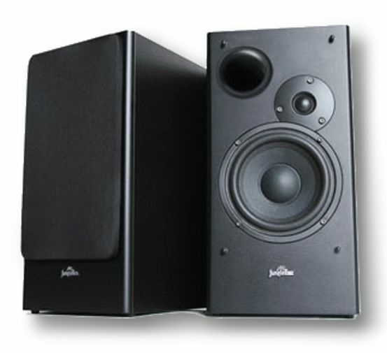 "5"" 2-Way Bookshelf Speaker Pair 200W JungleRoc Audio Vidsonix Compare @ $199 NEW"