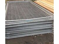 🌥Used Heras Site Security Fencing Panels