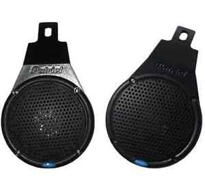 100W-Motorcycle-Scooter-Handlebar-Speaker-PAIR-BLK-Patriot-Audio-New-VX-M883BP