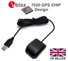 VK-162 USB GPS Receiver with stick down base, Ublox 7, Win 7/8/10 Linux, Ras Pi