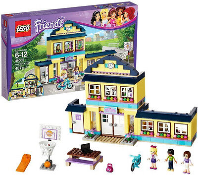Lego Friends New Sealed Set 41005 Heartlake High Minifigs Girl Toy