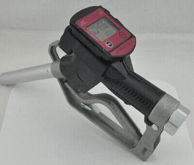 Fuel Gasoline Diesel Petrol Oil Delivery Gun Nozzle Turbine Fuel Flow Meter