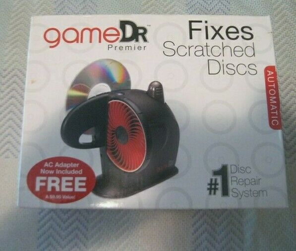 Digital Innovations Game Dr Premier Disc Repair System (New) Open Box