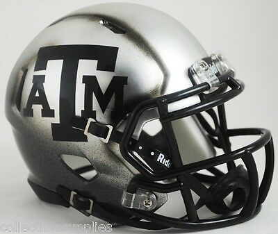 Texas A&M Aggies New Alternate ICE HYDRO Speed Mini Football Helmet