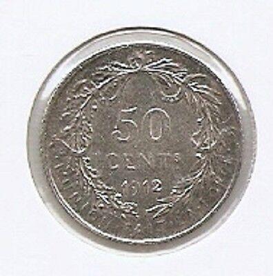 50 cent 1912 frans * F D C * ALBERT I * nr 8574