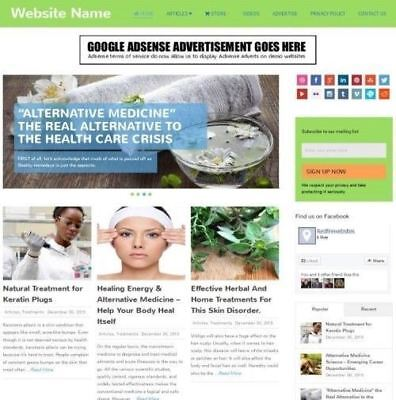 Established Alternative Medicine Store Online Business Website For Sale Mobile
