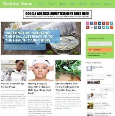 Established Alternative Medicine Store Online Business Website For Sale Mobile