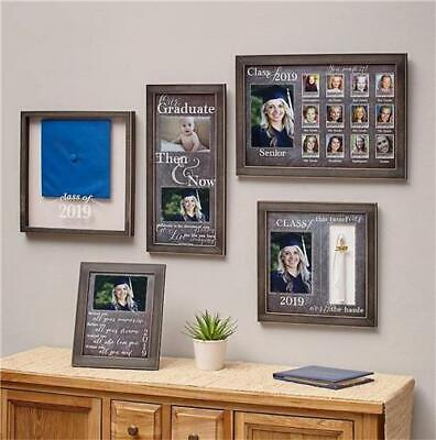 2019 GRADUATION SENTIMENT PICTURE PHOTO FRAME KEEPSAKE GRAD GIFT 5 DESIGNS