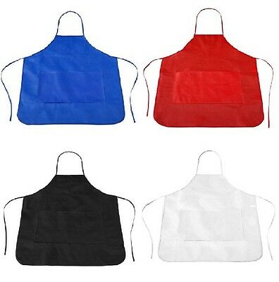 *TOP* Schürze 4 Farben Kochschürze Latzschürze Grillschürze Küchenschürze